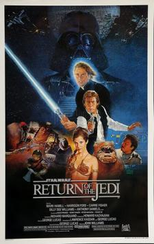 STAR WARS - EP VI - RETURN OF THE JEDI (1983) - One Sheet - Style B