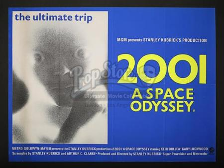 2001: A SPACE ODYSSEY (1968) - UK Quad Poster (1968)