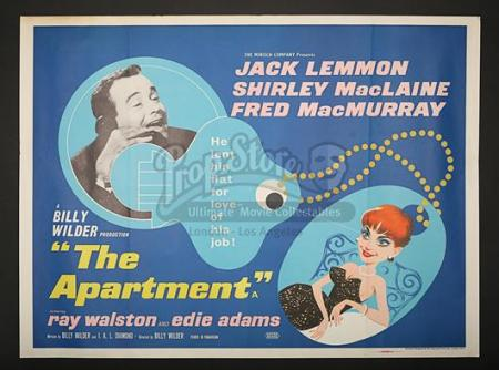 THE APARTMENT (1960) - UK Quad Poster (1960)