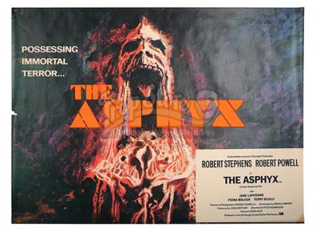 THE ASPHYX (1972) - UK Quad Poster (1972)