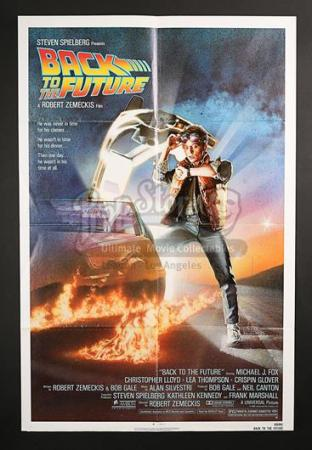 BACK TO THE FUTURE (1985) - US 1-Sheet Poster (1985)