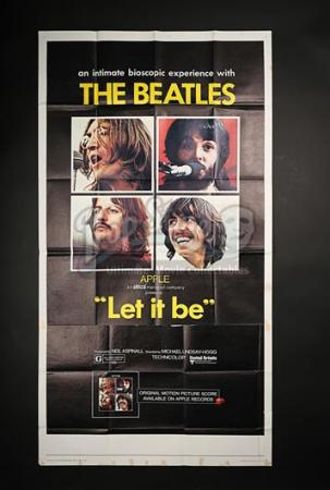LET IT BE (1970) - US 3-Sheet Poster (1970)