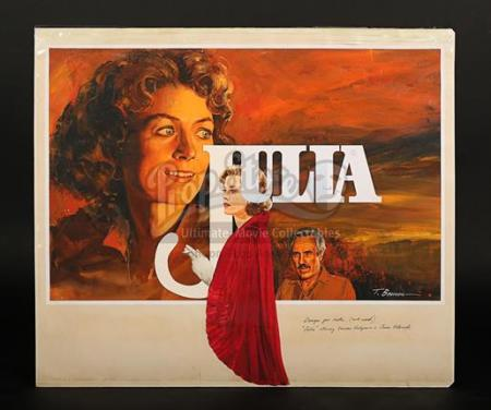 JULIA (1977) - UK Quad Poster Artwork (1977)