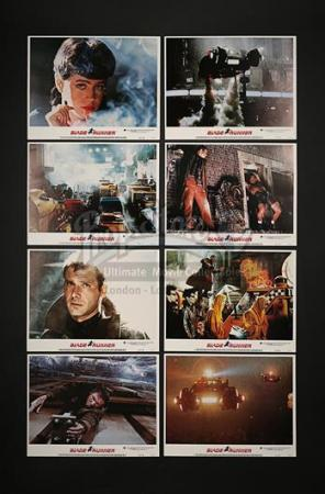 BLADE RUNNER (1982) - Set of Eight US Lobby Cards (1982)