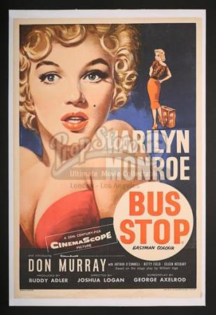 BUS STOP(1956) - UK Double-Crown Poster (1956)