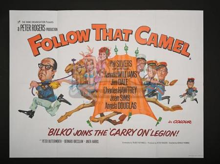 CARRY ON... FOLLOW THAT CAMEL (1967) - UK Quad Poster (1967)