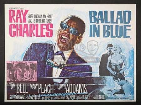 BALLAD IN BLUE (1965) - UK Quad Poster (1965)