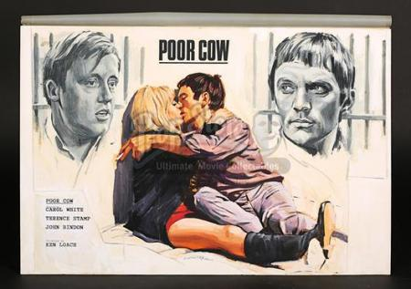 POOR COW (1967) - UK Quad Poster Artwork (1967)