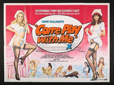 COME PLAY WITH ME (1977) - UK Quad Poster (1977)