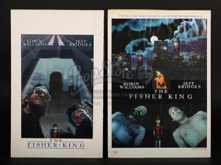 THE FISHER KING (1991) - Two UK Poster Artworks (1991)