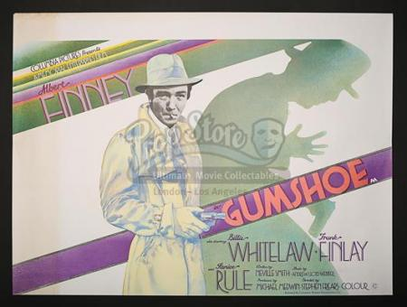 GUMSHOE (1971) - UK Quad Poster (1971)