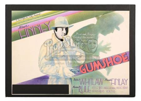 GUMSHOE (1971) - UK Quad Poster Artwork (1971)