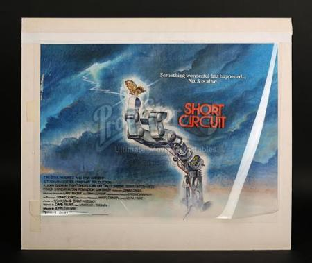 SHORT CIRCUIT (1986) - UK Quad Poster Artwork (1986)