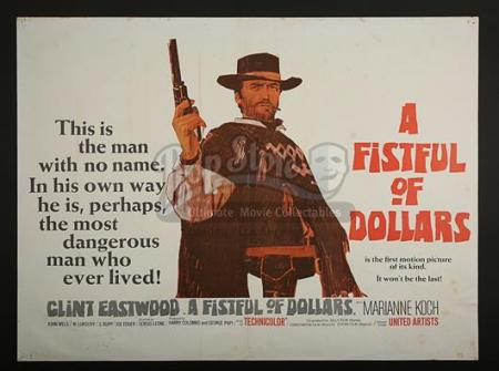 A FISTFUL OF DOLLARS (1964) - UK Quad Poster (1964)