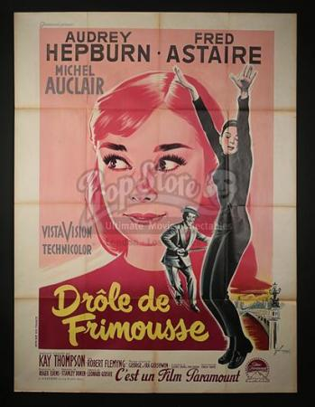 FUNNY FACE (1957) - French Grande Affiche (1957)