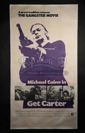 GET CARTER (1971) - US 3-Sheet Poster (1971)