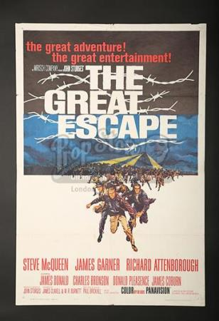 THE GREAT ESCAPE (1963) - US 1-Sheet Poster (1963)