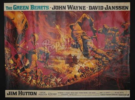 THE GREEN BERETS (1968) - UK Quad Poster (1968)