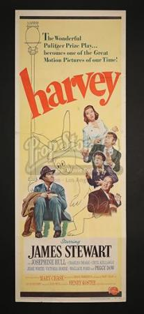 HARVEY (1950) - US Insert Poster (1950)