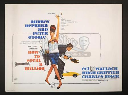 HOW TO STEAL A MILLION (1966) - UK Quad Poster (1966)