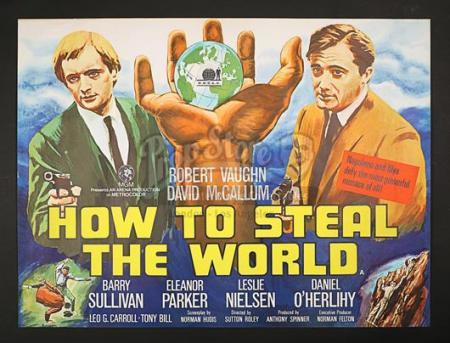 HOW TO STEAL THE WORLD (1968) - UK Quad Poster (1968)