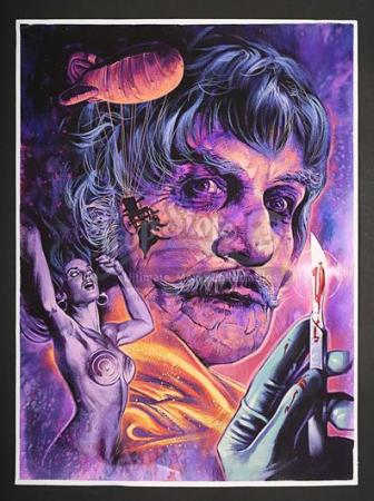 THE BRIDES OF DR. PHIBES - USA Poster Artwork (2008)