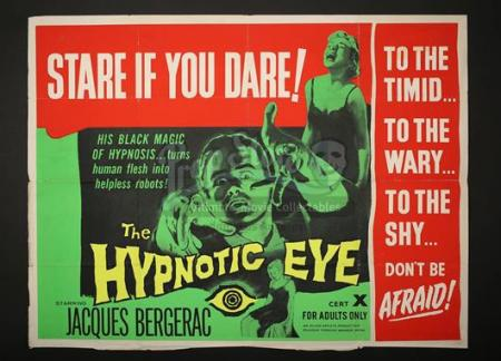 THE HYPNOTIC EYE (1960) - UK Quad Poster (1960)