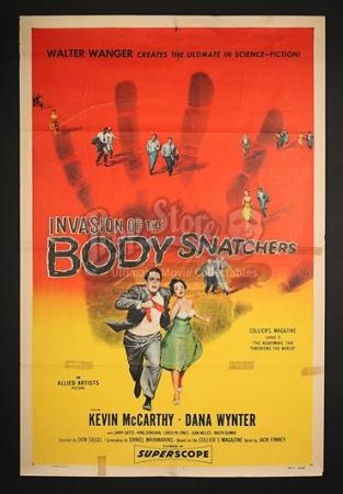 INVASION OF THE BODY SNATCHERS (1956) - US 1-Sheet Poster (1956)