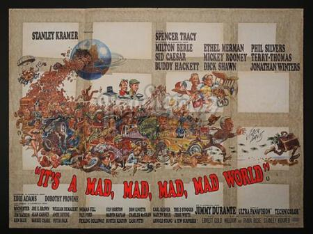 IT'S A MAD, MAD, MAD, MAD WORLD (1963) - UK Quad Poster (1963)