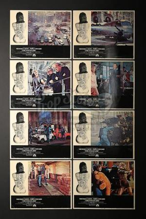 THE ITALIAN JOB (1969) - Set of Eight US Lobby Cards (1969)