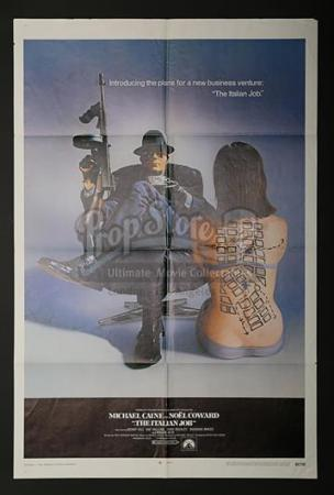 THE ITALIAN JOB (1969) - US 1-Sheet Poster (1969)