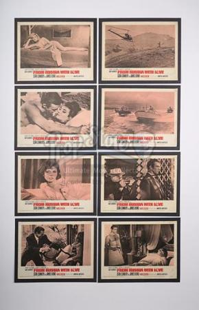 JAMES BOND: FROM RUSSIA WITH LOVE (1963) - Set of Eight US Lobby Cards (1963)