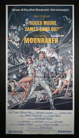 JAMES BOND: MOONRAKER (1979) - US 3-Sheet Poster (1979)