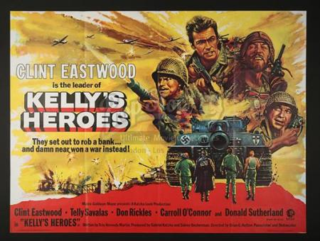 KELLY'S HEROES (1970) - UK Quad Poster (1970)