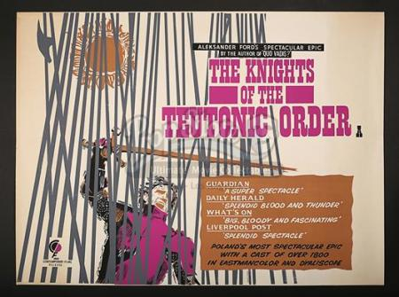 THE KNIGHTS OF THE TEUTONIC ORDER (1960) - UK Quad Poster (1961)