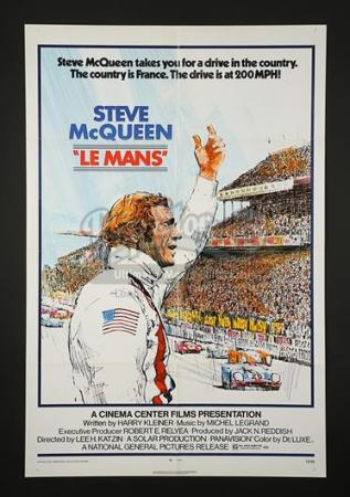 LE MANS (1971) - US 1-Sheet Poster (1971)