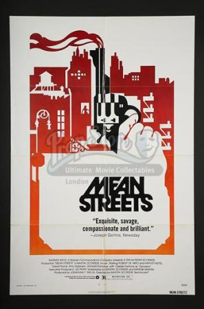 MEAN STREETS (1973) - US 1-Sheet Poster (1973)