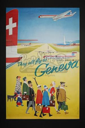 THEY ALL FLY TO GENEVA (1965) - They All Fly To Geneva UK Poster (1965)
