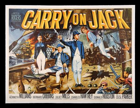 CARRY ON JACK (1963) - UK Quad Poster