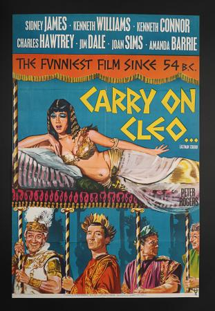 CARRY ON CLEO (1964) - UK One-Sheet Poster