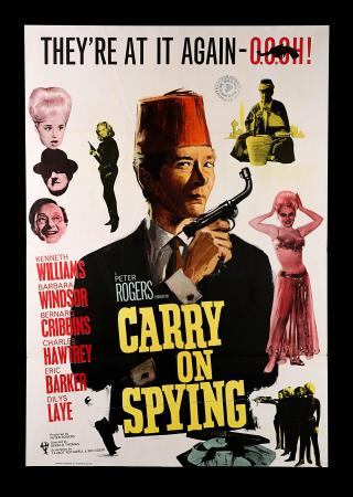 CARRY ON SPYING (1964) - UK One-Sheet Poster