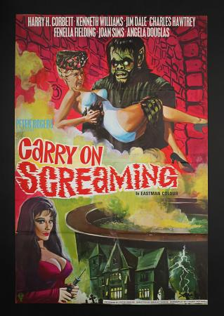 CARRY ON SCREAMING (1966) - UK One-Sheet Poster