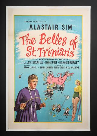 THE BELLES OF ST. TRINIAN'S (1954) - UK One-Sheet Poster