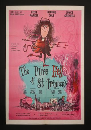 THE PURE HELL OF ST. TRINIAN'S (1960) - UK One-Sheet Poster