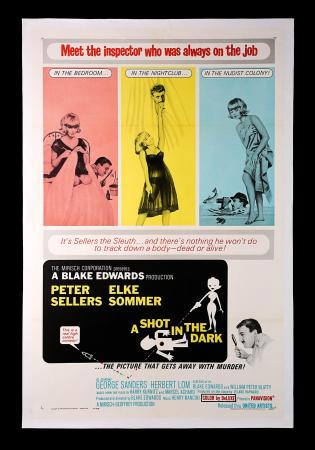 A SHOT IN THE DARK (1964) - US One-Sheet Poster