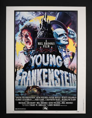 YOUNG FRANKENSTEIN (1974) - US 30 x 40 Style-B Poster