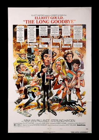 THE LONG GOODBYE (1973) - US One-Sheet Style-C Poster