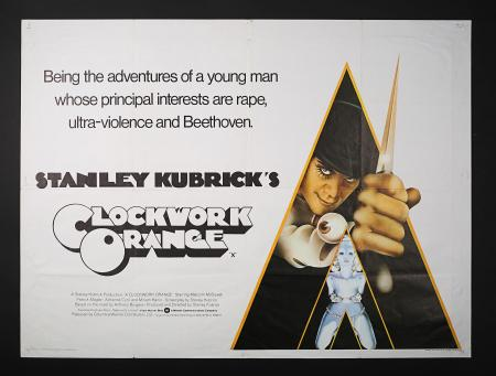 A CLOCKWORK ORANGE (1971) - UK Quad Poster