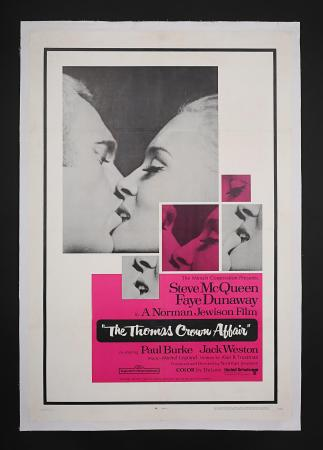 THE THOMAS CROWN AFFAIR (1968) - US One-Sheet Poster