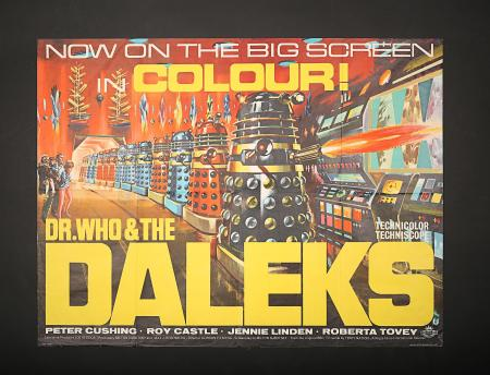 DR. WHO AND THE DALEKS (1965) - UK Quad Poster